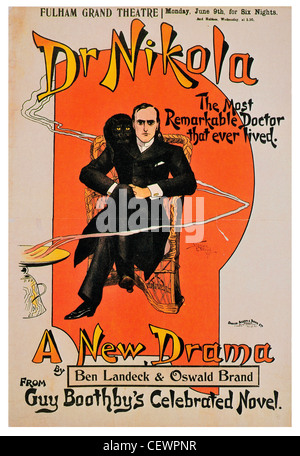 1902 Dr. Nikola Fulham Grand Theatre - Stockfoto