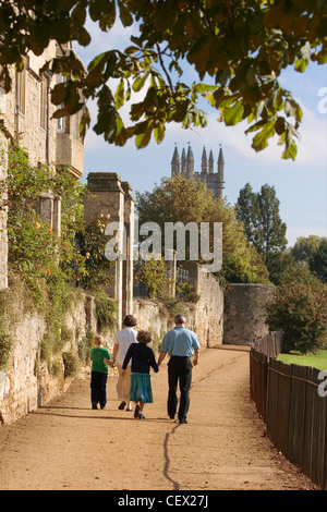 Deadman ist zu Fuß, Oxford im Frühherbst. - Stockfoto