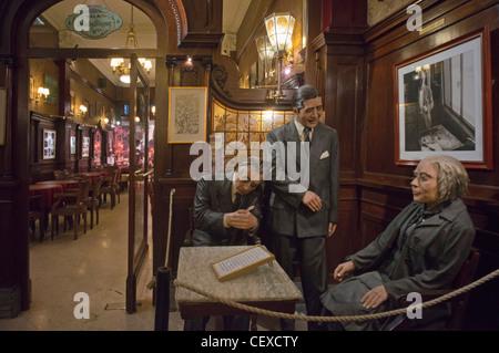 Berühmte Cafe Tortoni, Buenos Aires, Argentinien - Stockfoto