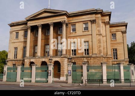 Außenansicht von der Vorderseite des Apsley House. Apsley House war das Haus von Arthur Wellesley, erste Herzog - Stockfoto