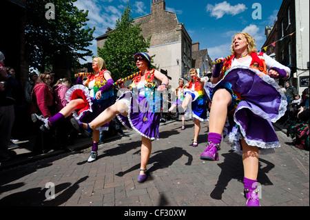 Lose Frauen Morris beim jährlichen fegt Festival in Rochester. - Stockfoto