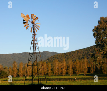 Windmühle - Stockfoto