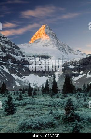 Mount Assiniboine, Mount Assiniboine Provincial Park, Britisch-Kolumbien, Kanada. - Stockfoto