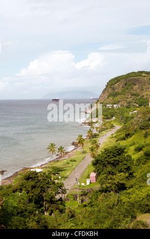 Oranje Bay Oranjestad Strand Karibik Sint Sint Eustatius Niederländische Antillen Insel