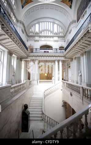 Innenraum der ehemaligen Präsidentenpalast, beherbergt jetzt das Museum der Revolution, Havanna, Kuba, Karibik, - Stockfoto