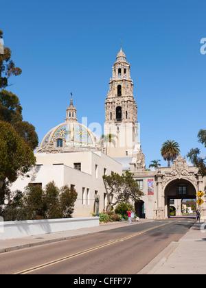Museum des Mannes, El Prado, San Diego - Stockfoto