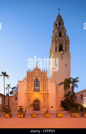 Museum des Mannes, San Diego - Stockfoto