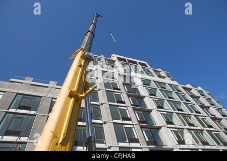 Bau und Konstruktion arbeiten, New York City, USA - Stockfoto