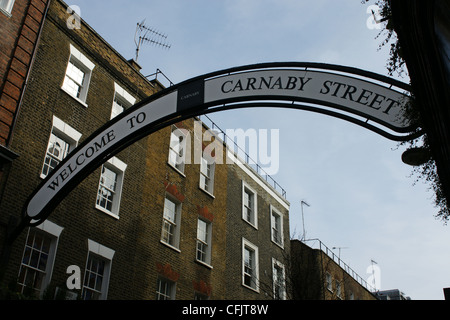 Carnaby Street, London - Stockfoto