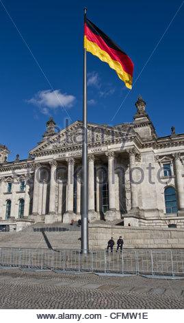 Bundestag, Reichstag - Stockfoto
