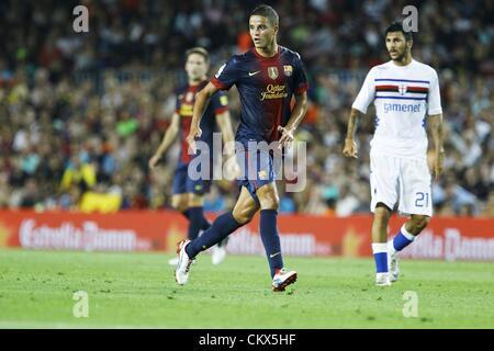 """Ibrahim Afellay (Barcelona), 20. August 2012 - Fußball / Fußball: Pre Season match """"Gamper Cup"""" zwischen Barcelona - Stockfoto"""