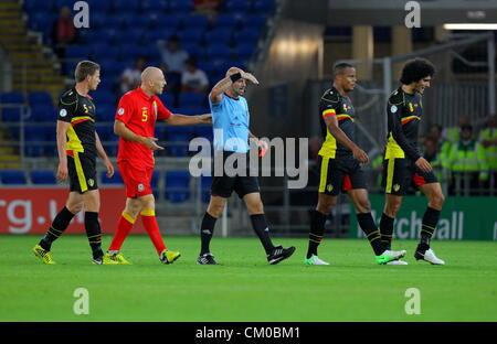 Schiedsrichter Wales Belgien