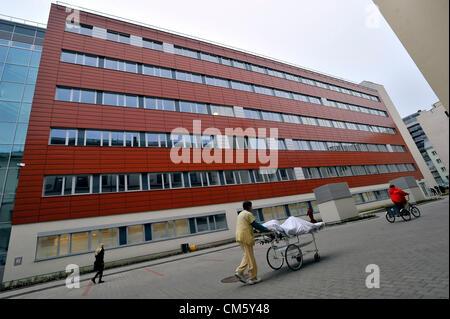 Brno, Tschechische Republik. 12. Oktober 2012. International Clinical Research Center in St.-Annen University Hospital - Stockfoto