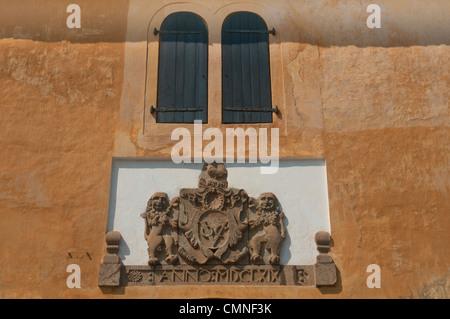alte holländische Kolonialarchitektur in der UNESCO World Heritage Site von Galle, Sri Lanka - Stockfoto