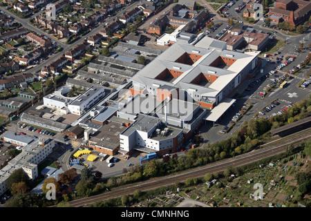 Luftbild von der Grafschaft Hereford Hospital - Stockfoto