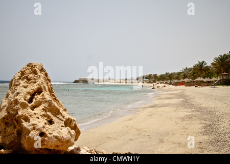 Resort in Marsa Alam am Roten Meer in Ägypten - Stockfoto