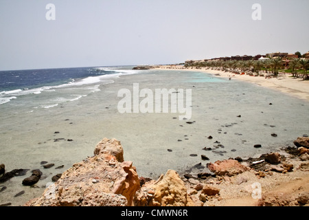 Resort in Marsa Alam am Roten Meer in Ägypten - Stockfoto