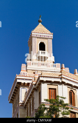 Barcadi Turm, Havanna Vieja, Kuba, große Antillen, Antillen, Karibik, Westindien, Mittelamerika, Nordamerika, Amerika - Stockfoto