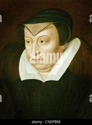 Catherine de Medici Italian1519 – 1589 Königin und Ehefrau von König Henry II von Frankreich - Stockfoto
