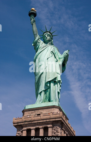 Statue of Liberty in New York City - Stockfoto