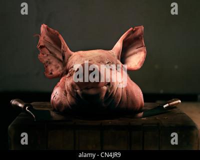 Schweinskopf - Stockfoto