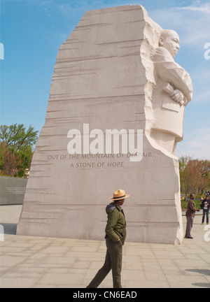 Martin Luther King Jr. Memorial in Washington, D.C. - Stockfoto