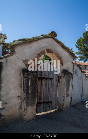 Mission San Miguel in Zentral-Kalifornien - Stockfoto