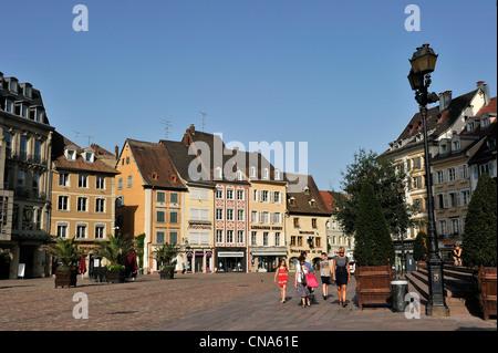 Mulhouse Frankreich frankreich haut rhin mulhouse place de la réunion reunion platz