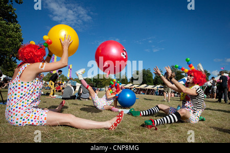 Performer Spielgruppe Festival, aufgeführt als einer der Top Ten Boutique-Festivals im Vereinigten Königreich nach - Stockfoto