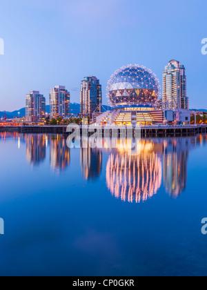 Telus Science World, Vancouver - Stockfoto