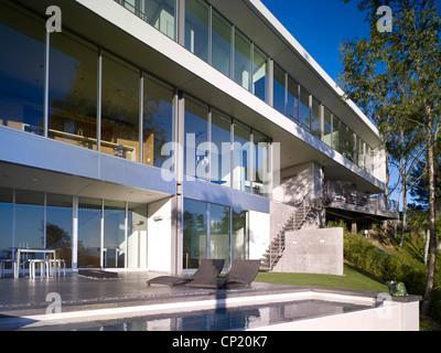 Briarcrest Haus, Beverly Hills, Kalifornien, Architekten: Architekten: SPF-Architekten - Stockfoto
