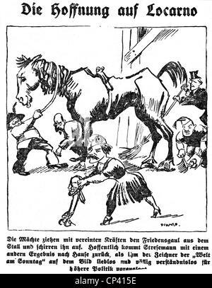 Politik Deutschland Weimarer Republik Karikatur Die Neue