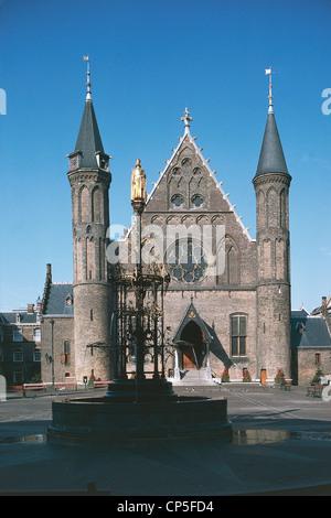 Niederlande - Südholland - den Haag (Den Haag). Der Binnenhof. - Stockfoto
