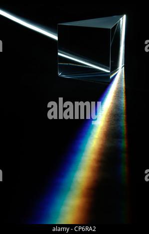 Weißes Lichtspektrum - Stockfoto