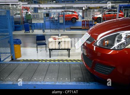 Pkw-Produktion im Ford Werk Köln - Stockfoto