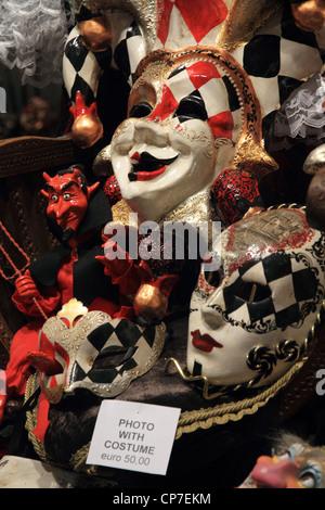 Venezianische Masken - Stockfoto