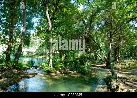 Krka Nationalpark, Dalmatien, Kroatien, Europa - Stockfoto