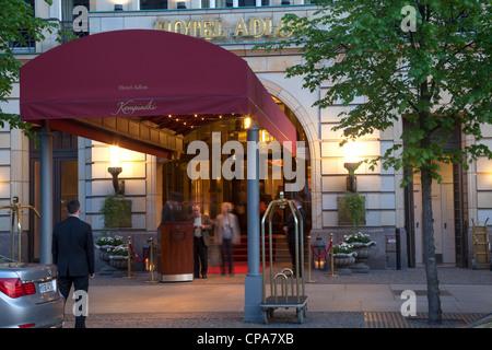 Hotel Adlon Kempinski, Berlin, Deutschland - Stockfoto