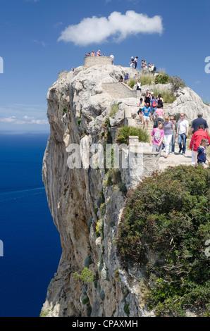 Cap de Formentor. Mallorca. Spanien. - Stockfoto