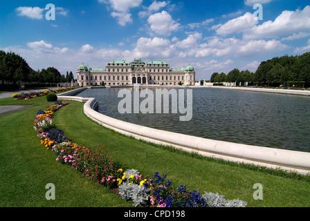 UNESCO-Weltkulturerbe, Schloss Belvedere, Wien, Österreich, Europa