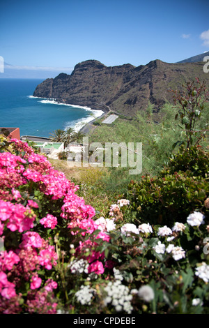 Berglandschaft, La Gomera, Kanarische Inseln, Spanien, Atlantik, Europa - Stockfoto