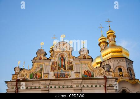 Heilige Dormition, Kiewer Höhlenkloster Lavra, UNESCO World Heritage Site, Kiew, Ukraine, Europa - Stockfoto