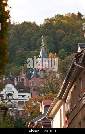 Altstadt, Heidelberg, Baden-Württemberg, Deutschland, Europa - Stockfoto