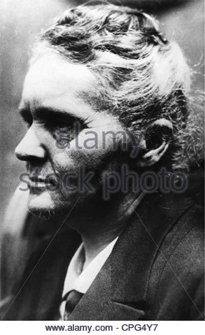 Curie, Marie, 7.11.1867 - 4.7.1934, französischer Chemiker und Physiker, polnischer Herkunft, Porträt, 1920er Jahre, - Stockfoto