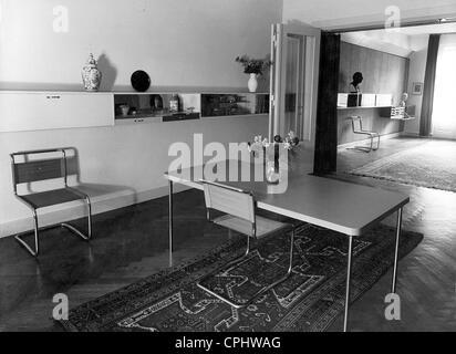 Inneneinrichtung Im Bauhaus-Stil, 1926 Stockfoto, Bild: 48336244
