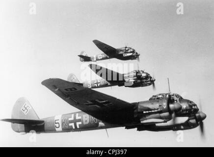Eine Junkers JU 88, 1942 - Stockfoto