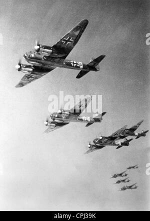 Junkers JU 88, 1942 - Stockfoto