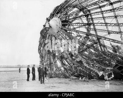 """Wrack der LZ 129 """"Hindenburg"""" - Stockfoto"""