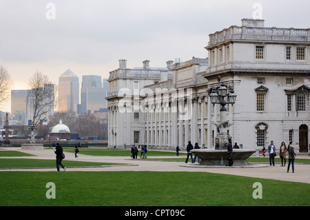 Old Royal Naval College in Greenwich, London - Stockfoto