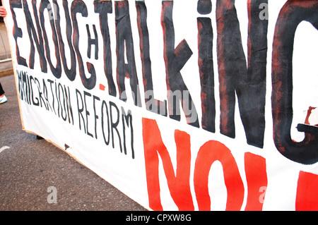1. Mai 2012, Occupy Wall Street, Manhattan, New York City - Stockfoto
